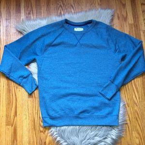 Champion Blue CrewNeck Sweatshirt Size Lg